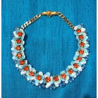 Necklace SHOUROUK Blue, navy, turquoise