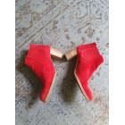 Bottines & low boots à talons MURATTI Rouge, bordeaux