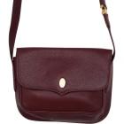 Leather Shoulder Bag CARTIER Red, burgundy