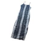 Robe longue VINTAGE Gris, anthracite