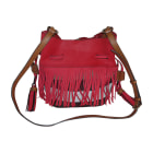Leather Shoulder Bag BURBERRY Multicolor