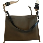 Leather Shoulder Bag CHLOÉ Khaki