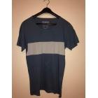 Tee-shirt PULL & BEAR Bleu, bleu marine, bleu turquoise