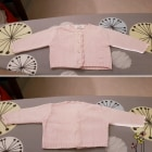 Gilet, cardigan BABY DIOR Rosa, fucsia, rosa antico