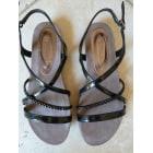 Sandales plates  TAMARIS Noir