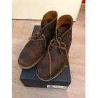 Chaussures à lacets CLARKS Marron