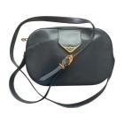 Leather Shoulder Bag CARTIER Blue, navy, turquoise