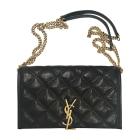 Leather Shoulder Bag YVES SAINT LAURENT Chyc Black