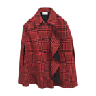 Manteau RED VALENTINO Noir rouge