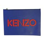Pochette KENZO Bleu, bleu marine, bleu turquoise