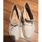 Chaussures à lacets CLARKS Blanc, blanc cassé, écru