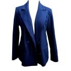 Manteau ARMAND VENTILO noir / bleu nuit