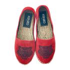 Slippers KENZO Red, burgundy