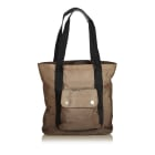 Borsa a tracolla in pelle CHANEL Brown