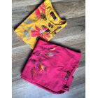 Top, Tee-shirt CATIMINI Rose, fuschia, vieux rose
