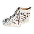 Sneakers CHRISTIAN LOUBOUTIN Louis White, off-white, ecru