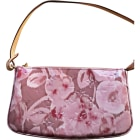 Leather Shoulder Bag LOUIS VUITTON Pink, fuchsia, light pink