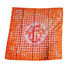 Silk Scarf HERMÈS Orange