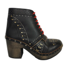 High Heel Ankle Boots BURBERRY Black