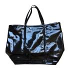 Leather Handbag VANESSA BRUNO Black