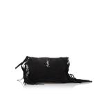 Leather Shoulder Bag YVES SAINT LAURENT Black