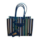 Leather Shoulder Bag BALENCIAGA Blue, navy, turquoise