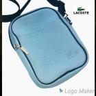 Small Messenger Bag LACOSTE Blue, navy, turquoise