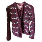 Jacket MAJE Pink, fuchsia, light pink