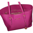 Leather Handbag MICHAEL KORS Pink, fuchsia, light pink