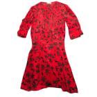 Midi Dress ZADIG & VOLTAIRE Red, burgundy