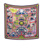 Silk Scarf HERMÈS Carré Multicolor