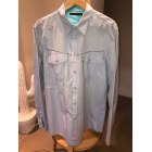 Shirt MARITHÉ ET FRANÇOIS GIRBAUD Blue, navy, turquoise