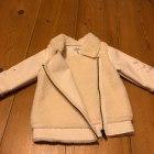 Manteau IKKS Blanc, blanc cassé, écru