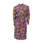 Midi Dress YVES SAINT LAURENT Multicolor