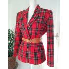 Blazer, veste tailleur VINTAGE Rouge, bordeaux