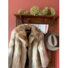 Manteau en fourrure VINTAGE Beige, camel