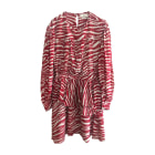Mini Dress ISABEL MARANT Red, burgundy