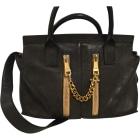 Leather Shoulder Bag CHLOÉ Black