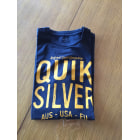 T-shirt QUIKSILVER Blue, navy, turquoise