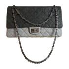Non-Leather Shoulder Bag CHANEL 2.55 Multicolor