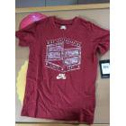 Tee-shirt NIKE Rouge, bordeaux