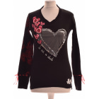 Top, tee-shirt DESIGUAL Noir