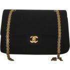 Non-Leather Shoulder Bag CHANEL Timeless Black