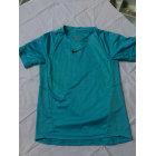 Tee-shirt NIKE Bleu, bleu marine, bleu turquoise