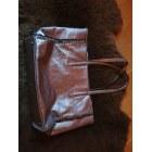 Sac en bandoulière en cuir GENUINE LEATHER Doré, bronze, cuivre