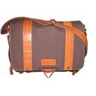 Non-Leather Shoulder Bag LANCEL L'Angèle Brown