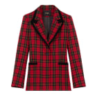 Jacket MAJE Red, burgundy