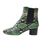 High Heel Ankle Boots ISABEL MARANT Green