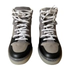 Baskets BALENCIAGA Gris, anthracite
