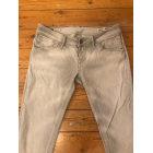 Jeans slim MELTIN' POT Gris, anthracite